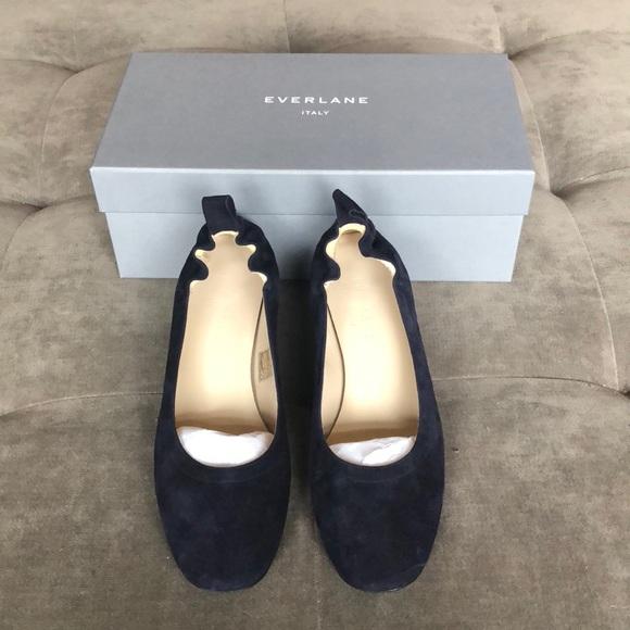 06c2b264dbb Everlane Shoes - Everlane Navy Day Heel size 6.5
